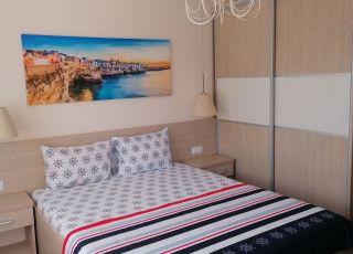 Апартамент с две спални и градина