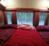 Bungalow Red Sunset Caravan