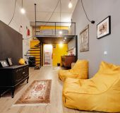 Separate room Funky Loft