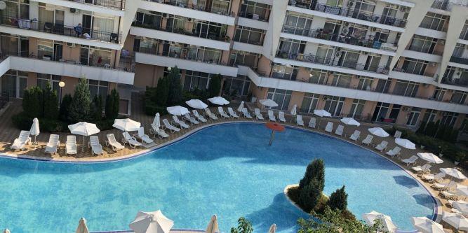 Апартамент в Апарт хотел Камелия гардън