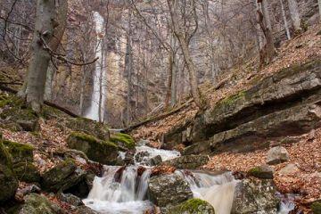 Водопад Червената скала