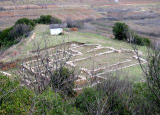 Базилика в местността Долно Градище - с. Микрево