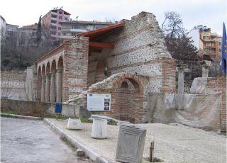 Епископски комплекс с базилика - Сандански