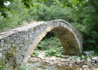 Римски мост - река Чая