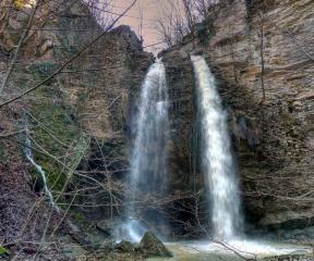Водопад Куза скока