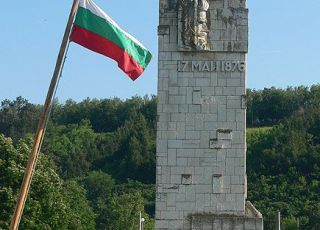 Паметник на Христо Ботев и четата му