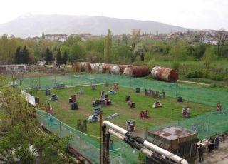 Комплекс Пейнтбол Мания - София