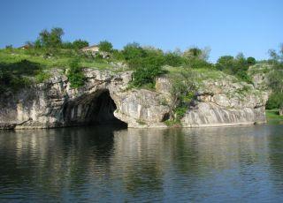 Скален мост край с. Ъглен