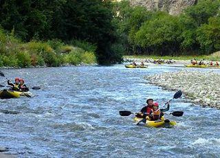 С каяк по река Струма